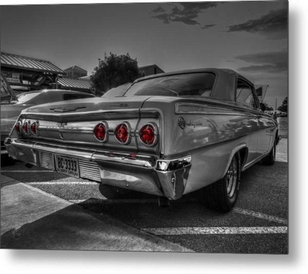 '62 Impala Ss 001 Metal Print