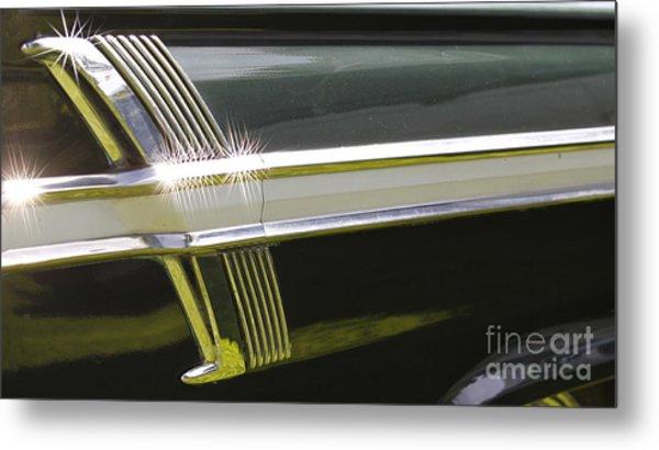 64 Ford Fairlane 500 Metal Print