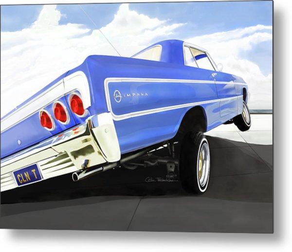 64 Impala Lowrider Metal Print