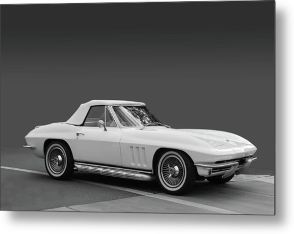 65 Corvette Roadster Metal Print