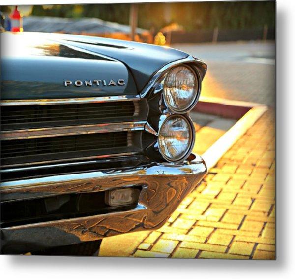 '65 Pontiac Metal Print