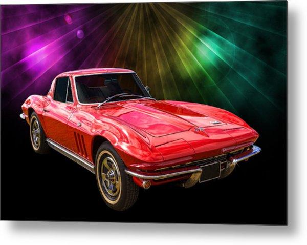 66 Corvette Metal Print