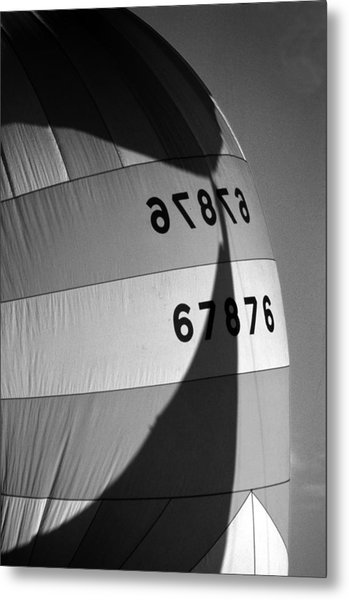 Spinaker Shadow Metal Print