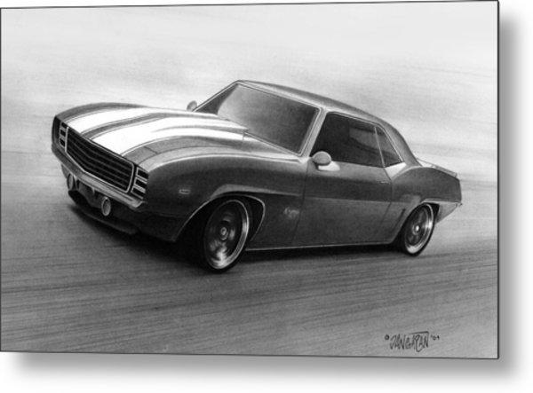 '69 Camaro Metal Print