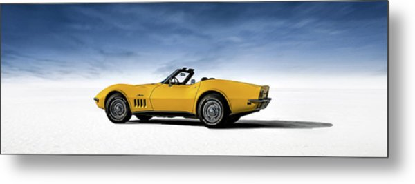 '69 Corvette Sting Ray Metal Print