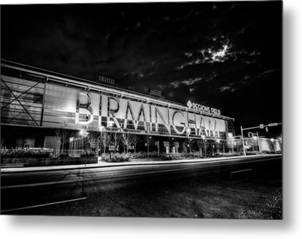 April 2015 - Birmingham Alabama Regions Field Minor League Baseb Metal Print