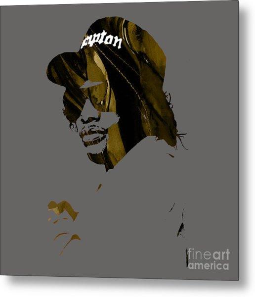 Eazy E Straight Outta Compton Metal Print