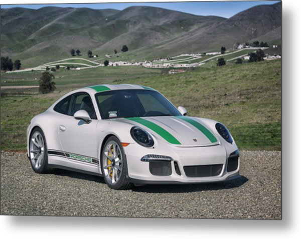Metal Print featuring the photograph #porsche #911r #print by ItzKirb Photography