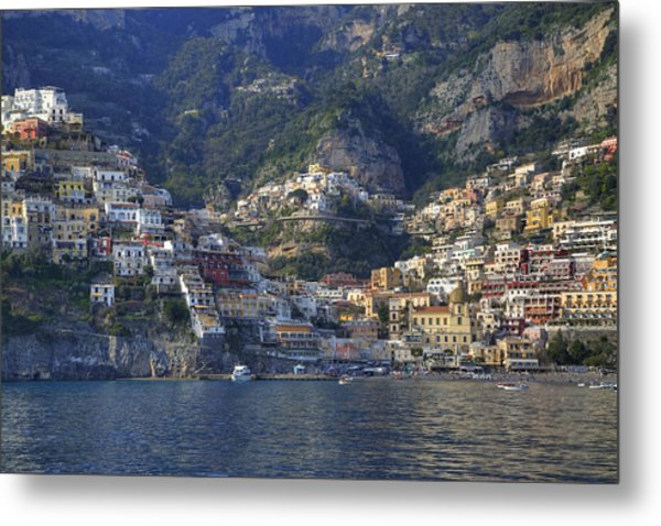 Positano - Amalfi Coast Metal Print