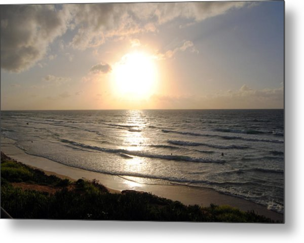 Sunset At Jaffa Beach 10 Metal Print