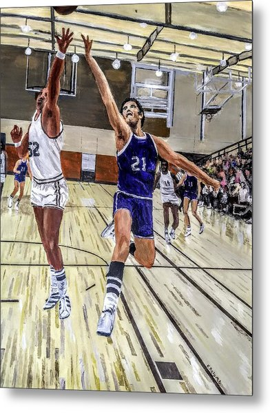 Metal Print featuring the painting 70's Layup by Kevin Daly