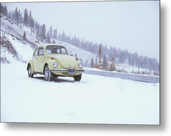 71 Vw Bug Metal Print