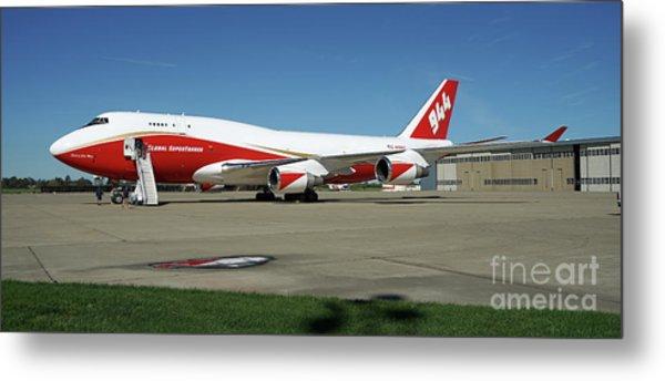747 Supertanker Metal Print