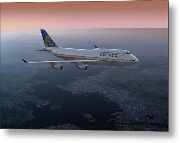747twilight Metal Print