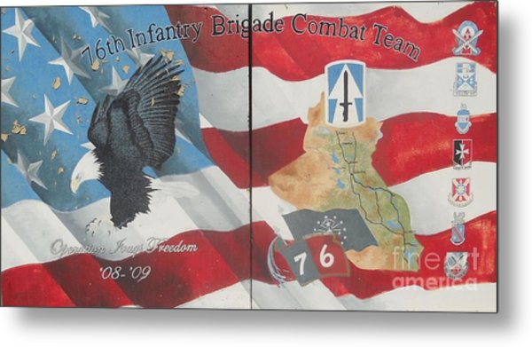 76th Infantry Metal Print by Unknown