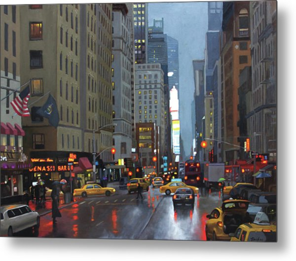 7th Avenue Metal Print