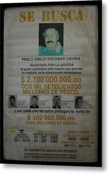 Bogota Museo Historico Policia Metal Print
