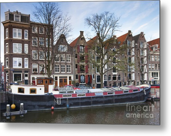 Channels Of Amsterdam Metal Print by Andre Goncalves