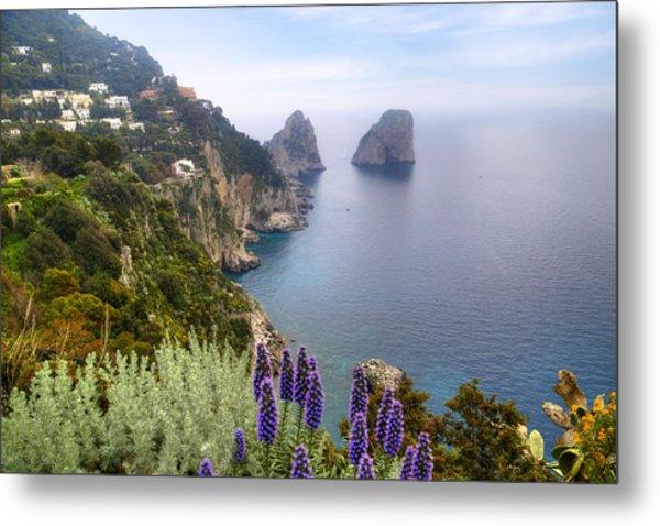 Faraglioni - Capri Metal Print