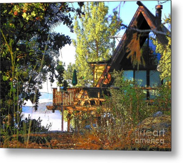 Idyllwild - Houses On The Hill Metal Print