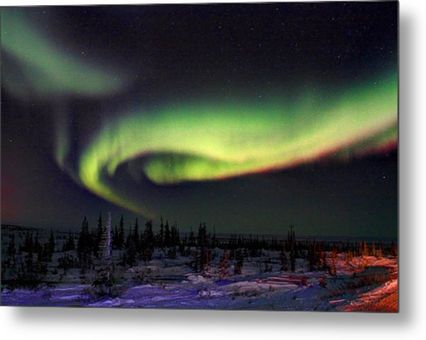 Northern Lights Metal Print