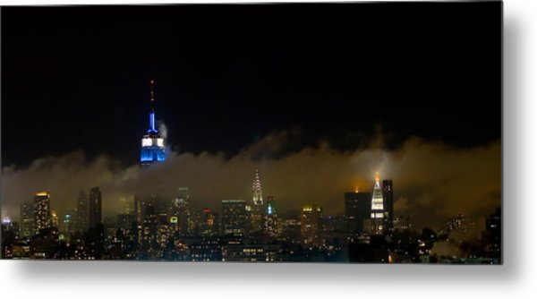 Nyc Buildings Metal Print by Patrick  Flynn