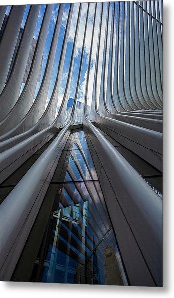 Oculus Center Nyc Metal Print by Robert Ullmann