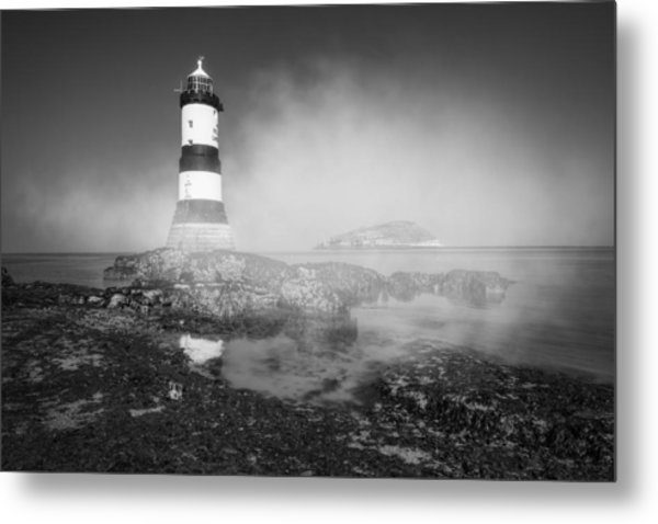 Penmon Lighthouse Metal Print