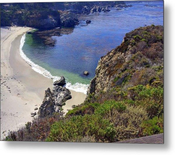Point Lobos Beach Metal Print