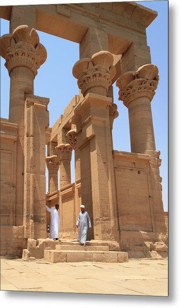 Temple Of Isis Metal Print