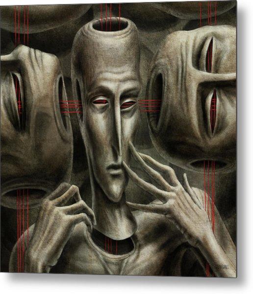 80 Metal Print by Farzad Golpayegani