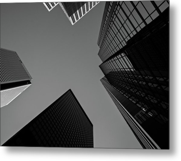 Abstract Architecture - Toronto Metal Print