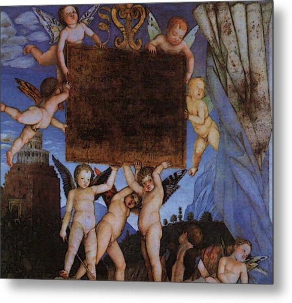 Andrea Mantegna Metal Print