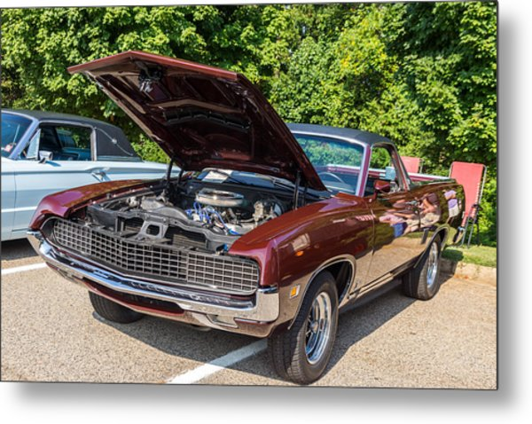Hall County Sheriffs Office Show And Shine Car Show Metal Print