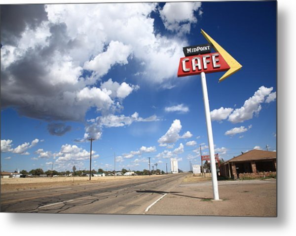 Route 66 Cafe Metal Print