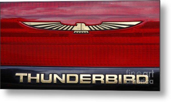 90s Thunderbird Metal Print