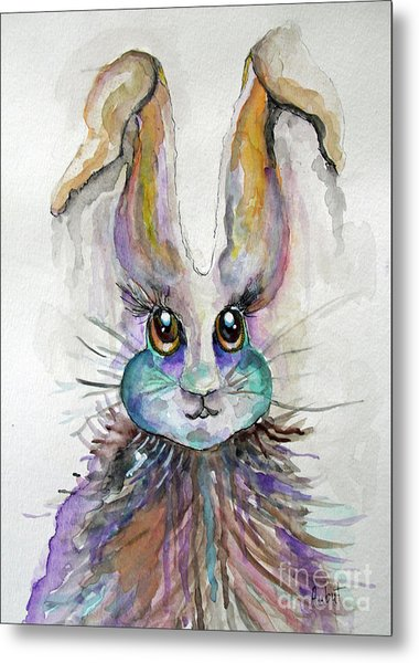 A Bad Hare Day Metal Print