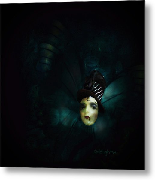 Metal Print featuring the digital art A Basement Apartment by Delight Worthyn