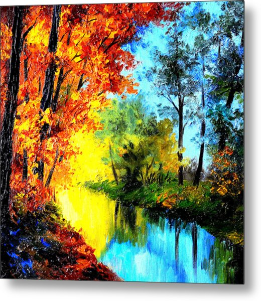 A Beautiful Day Metal Print