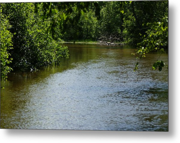 A Bend In The River Metal Print