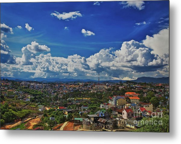 Metal Print featuring the photograph A Bit Of Disneyland In Dalat, Vietnam, Southeast Asia by Sam Antonio Photography