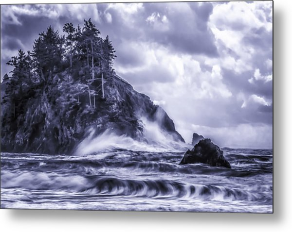 A Blustery Day Metal Print