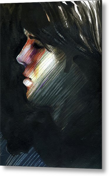 A Boy Named Rainbow Metal Print