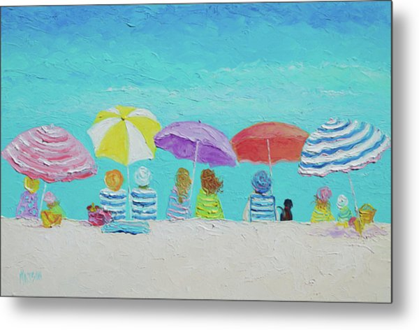 A Breezy Summers Day Metal Print
