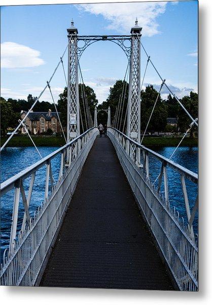 A Bridge For Walking Metal Print