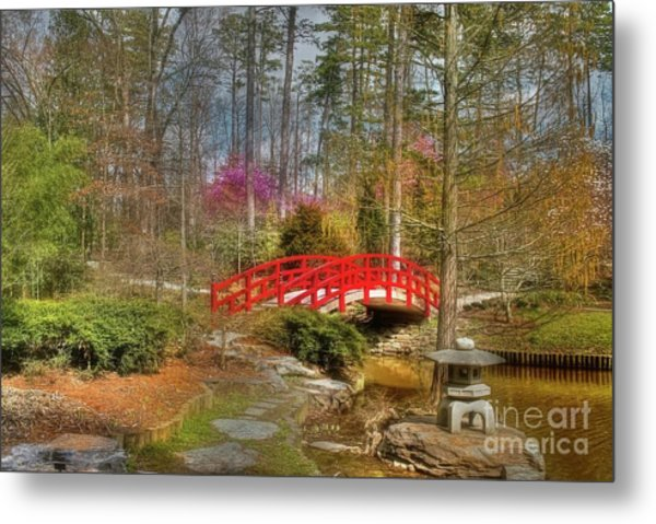 A Bridge To Spring Metal Print