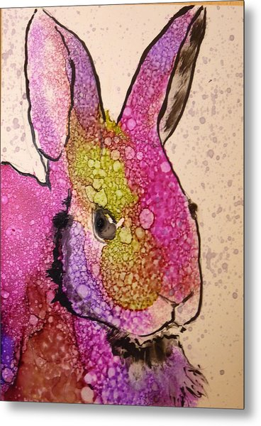 A Bunny Raggitt Metal Print