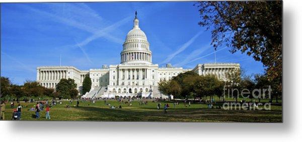 A Capitol View Metal Print