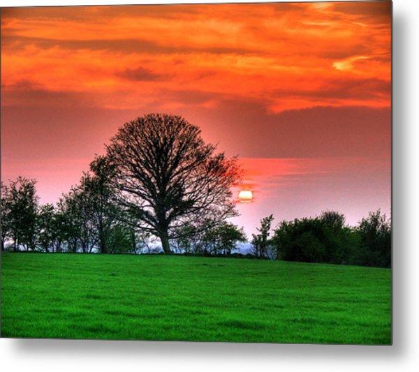 A Celtic Sunset Metal Print by Kim Shatwell-Irishphotographer