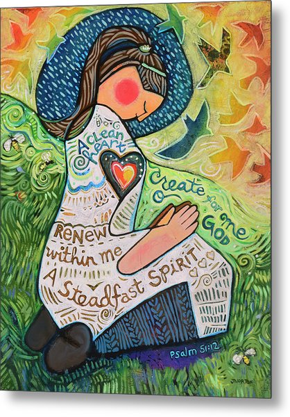 A Clean Heart Metal Print